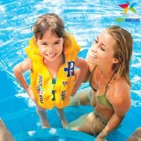 INTEX Baju Jaket Ban / Pelampung Renang Anak   Swim Vest   3-6 th