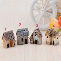 Hiasan Miniature rumah dekoasi Terrarium mini Garden dekorasi aquarium