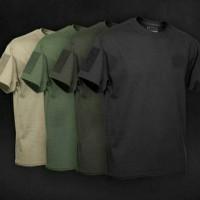 Tactical Shirt Velcro - Kaos Taktikal Velcro