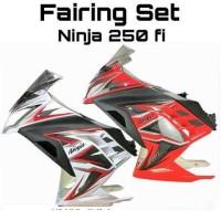 Fairing set Ninja 250 fi Merah / Putih / Hitam / Hijau GOJEK