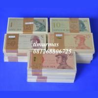 Uang Kuno 1 ~ 50 Sen Seri Dwi Kora 1964
