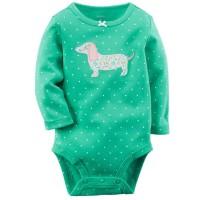 Carter Jumper Dog lengan panjang Baju bayi/ anak balita GK301