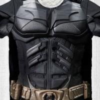 Baju Kaos Anak & Dewasa DC COMIC - Batman Bat Costum