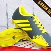Sepatu Bola Anak Adidas Predator LZ Abu Kuning