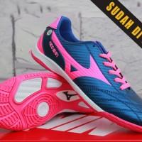 Sepatu Futsal Anak Mizuno Neo Shin Navy Pink