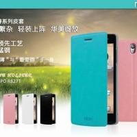 Oppo Find 5 Mini R827 MOFI Leather Flip Case Flipcase Cover Fl (Ob)