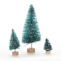 miniature pohon natal 65mm christmas tree dekorasi terrarium bahan