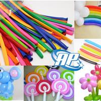 Balon Panjang / Pentil / Twist / Magic / Cacing