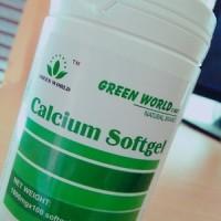 Obat Syaraf Kejepit Paling AMPUH - Calcium Softgel Green World ASLI