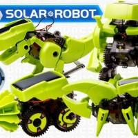 ROBOT SOLAR KIT 4-IN MERAKIT ROBOT DINASAURUS TENAGA SURYA