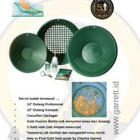 Alat Tambang - Set Dulang Emas Komplit - ORI - Made in USA.