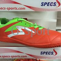 sepatu futsal specs barricada gurkha in 2016 orange green white