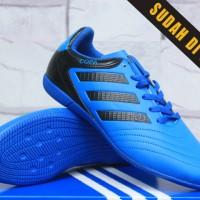 sepatu futsal Adidas Copa Mundial Biru KW Super (trebaru,keren,2016)