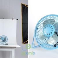 1 METER - BACKGROUND / ALAS FOTO PRODUK - BAHAN PVC WATERPROOF - WHITE
