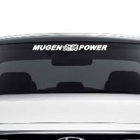 Stiker Kaca Depan Mobil Logo Mugen Power Jepang Decal Sticker Motor