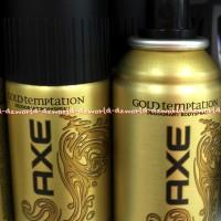 Axe Spray Gold Temptation Deodorant BodySpray 150ml Kuning