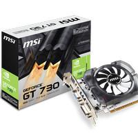 MSI GeForce GT 730 2GB DDR5 - N730K-2GD5/OC V1