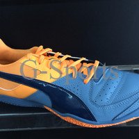 sepatu futsal puma gavetto sala 2016 orange grey new original 10