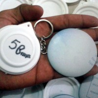 Bahan Baku Pin Gantungan Kunci satu muka Ukuran 58mm murah&berkualitas
