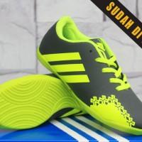 Sepatu Futsal Anak Adidas Predator LZ 2 Colorways Abu-Hijau Kids 2016