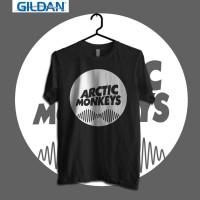 Arctic Monkey - Circle Logo Kaos Band Original Gildan