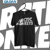 Arctic Monkey - Logo in Black Kaos Band Original Gildan