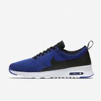 Sepatu Casual Wanita Nike Air Max Thea Jacquard Blue Original