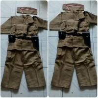 baju pejuang dewasa / karnaval uk XL - XXL