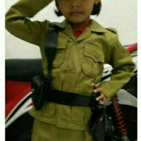 baju pejuang anak SD / karnaval