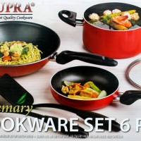 Supra Rosemary Cookware 6 PCS Panci Set