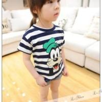 L Nice 26 Jins Goofi Girl Print    Baju Fashion Setelan Anak