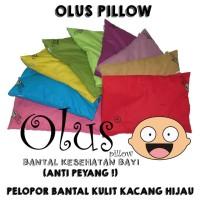 Olus Pillow | Bantal Anti Peyang | Bantal Kulit Kacang Hijau