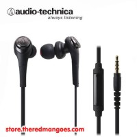 Audio Technica ATH-CKS550iS / ATH CKS550iS Solid Bass Black