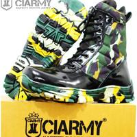 Sepatu PDL Loreng Brimob - Sepatu Boot Pria Ciarmy C-020LK