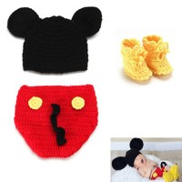 newborn baby photo costume/ kostum bayi /photo booth mickey mouse