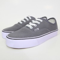 Sepatu Vans Authentic Grey/abu/abu-abu Waffle Ifc Termurah