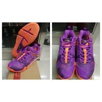 Sepatu Badminton Lining AYAL 033 Purple - Original NEW PRODUK