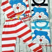Piyama Anak Baby 0-1Thn Baby Doraemon Baju Tidur Setelan Laki Laki Per