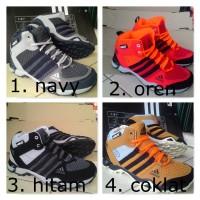 Sepatu Adidas Ax2 Tracking Outdoor Mid / High Grade Ori Import Murah