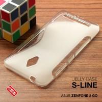 Softcase Jelly Silikon Back ORI TPU Soft Case Casing Asus Zenfone 2 Go