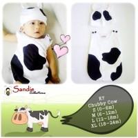 Baju Bayi Lucu Kostum Sapi