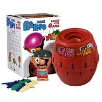 mainan King Pirate Roulette Game Lucky Barrel Black Beard unik