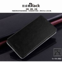 Huawei Honor Holly 3c Lite Premium Lather Flip Soft Case Casing Cover