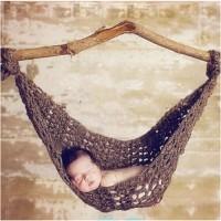 Kostum rajut foto bayi #hammock
