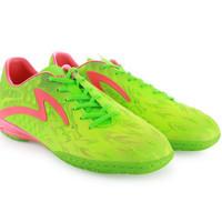 Sepatu futsal specs swervo dragon green