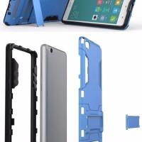 Bumper Iron Man Rugged Armor Hard Soft Case Casing Xiaomi Mi4i / Mi4c