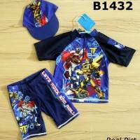 B1432 GW 3-in-1 Swimsuit Transformer Blue