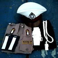 Baju Karnaval Polisi untuk Anak Laki&Perempuan Usia 3-8 tahun