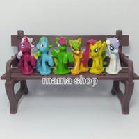 Toper Kue Ulang Tahun Topper Hiasan Kue Little Pony Kuda Pony Figure