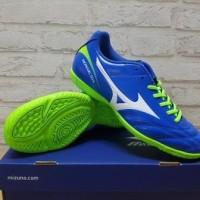 Sepatu Futsal Mizuno Monarcida 2 FS Blue P1GF 172327 Original